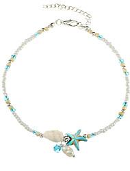 Shell Anklet Beads Starfish Anklets For Women Fashion Vintage Handmade Sandal Statement Bracelet Foot Boho Jewelry