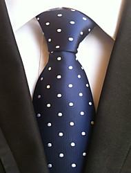Men's Polyster Neck TieDress Shoes Neckwear Dots All Seasons W0063