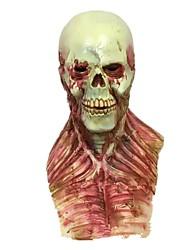 Artigos de Halloween Baile de Máscara Esqueleto/Caveira Zombie Monstros Fantasias Festival/Celebração Trajes da Noite das Bruxas Vermelho