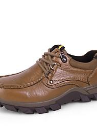Для мужчин Спортивная обувь Удобная обувь Формальная обувь Обувь для дайвинга Осень Зима Натуральная кожа Наппа Leather КожаПовседневные