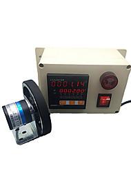 Compteur électronique numérique compteur mesure de la longueur de la roue et compteur de contrôle compteur mètre intelligent compteur code