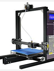 Yite 3d принтер diy комплект высокоточная многофункциональная алюминиевая рама структура большой объем сборки 200x280x230mm