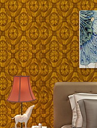Cuir Imprimé Fond d'écran pour la maison Rétro Revêtement , PVC/Vinyl Matériel Ruban Adhésif fond d'écran , Couvre Mur Chambre