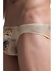 Men's Print Print G-string Underwear,Polyester
