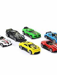 Carro de Corrida Veículo Brinquedos de carro 1:64 Plásticos Liga de Alúminio Carbono