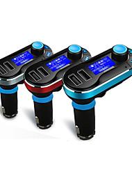 Автомобиль T66 Автомобильная гарнитура FM приемники USB слот