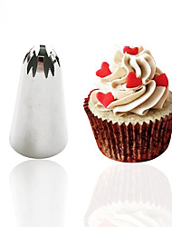 Baking tools 1pc Creative Icing Piping Nozzles Sugarcraft Cake Cupcake Decorating Tool DIY Cake Maker