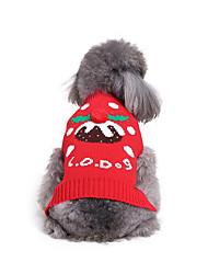 Cane Maglioni Abbigliamento per cani Casual Natale Natale