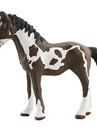 Animaux Figurines d'action Cheval Animaux Adolescent Caoutchouc silicone Classique & Intemporel Haute qualité