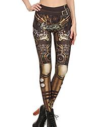 Women's Thin Print Legging,Print