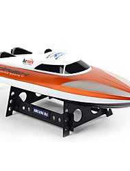 Shuang Ma 7010 Upgrade 2.4GHz Electric RC Waterproof Racing Boat with Display Rack