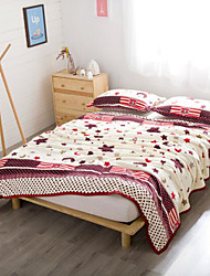 Coral fleece Geometric Other Blankets