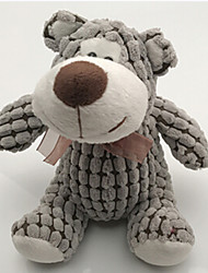 Stuffed Toys Bear Plush Fabric