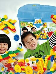 DIY Wood Puzzle Toys Assembly Model Gear Plastic Building Blocks MX7235-0016