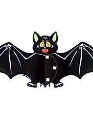Halloween Haunted House Bar KTV Bats Ornaments Paper Pendant Atmosphere Decoration Props