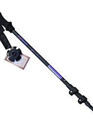 3 Нордические трости 135cm (53 дюйма) Износоустойчивый Простой Алюминиевый сплав Отдыхитуризм На открытом воздухе