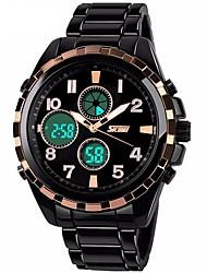 SKMEI Homens Mulheres Relógio Esportivo Relógio de Moda Relógio de Pulso Chinês Quartzo Compass Calendário Cronógrafo Impermeável alarme