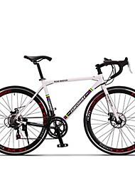 Bicicletas Cruiser Ciclismo 14 Velocidad 26 pulgadas/700CC SHIMANO TX30 Disco de Freno Sin Amortiguador Cuadro de Aleación de AluminioA