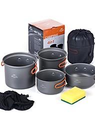 Naturehike Ustensiles de Cuisine de Camping Casserole de Camping Sets Portable pour Camping Pique-nique Camping & Randonnée Barbecue