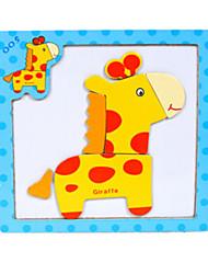 Puzzles Puzzles en bois Blocs de Construction Jouets DIY  Eléphant Cerise Cheval Dessin Animé Autre