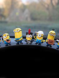 DIY автомобильных украшений мультфильм куклы милый куклы автомобиль кулон&Украшения пвх