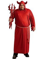 Costumes de Cosplay Squelette/Crâne Zombie Cosplay Fête / Célébration Déguisement d'Halloween Rouge Rétro Collant Ceinture de Tour de