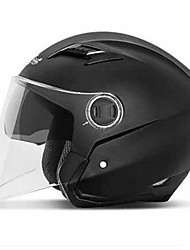 Andes HELMET b-639 Motorcycle Helmet Electric Car Helmet Man And Woman Summer Four Seasons Half Helmet Half-Covered Double Lens Anti-Fog Helmet
