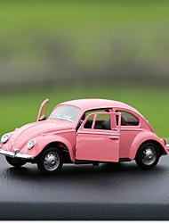 Diy ornamentos automotivos colar de carro de perfume de carro de besouro&Ornamentos de metal