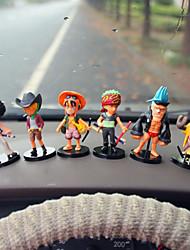 Diy автомобильные украшения пираты автомобиль куклы подарок 6 автомобиль подвеска&Украшения из нефрита