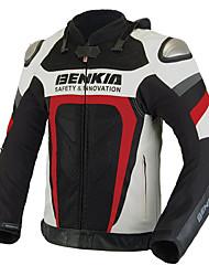 BENKIA HDF-GL70 Motorcycle Jackets Half Leather Ride Shootout Titanium Alloy Racing Motorcycle Ride