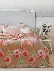 Шерсть Цветы Полиэстер /хлопок одеяла