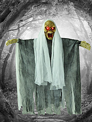 Halloween Props Bar Haunted House Glow Hung Ghost Horror Demon Called Skeleton Hanging Decorative Halloween Decoration Supplies