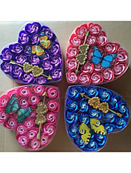 1 Favor Holder-Heart-shaped Plastic Favor Boxes Gift Boxes