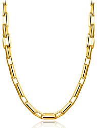 Муж. Ожерелья-бархатки Бижутерия Геометрической формы Позолота Природа Готика Классика Elegant Bling Bling Бижутерия Назначение