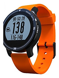 Men's Smart Watch Fashion Watch Digital Silicone Band Black Blue Orange