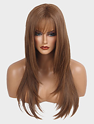 Graceful  And  Enchanting  Long Straight Hair Synthetic Wigs  For Women