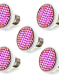 5Pcs MORSEN®Promotion 12W  85-265V Led Grow Light 100% Quality Veg&Flower Hydroponic Lighting Plant Lamp