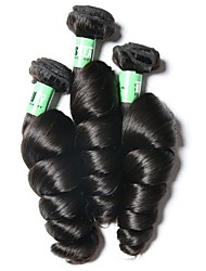 Indian Virgin Hair Loose Wave 3 Bundles Unprocessed Virgin Remy Human Hair Weave Total 300 Grams