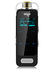Aigo R6635 Digital Voice Recorder Suspension Micro Capacitive Touch Screen Design Power Save Auto Save Noise Reduction 8GB