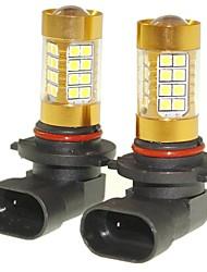 Sencart 2pcs 9006 p20d lâmpada piscando conduziu as luzes traseiras da lâmpada de volta da cauda do carro (branco / vermelho / azul /