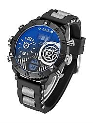 Per uomoOrologio sportivo Orologio militare Orologio alla moda Orologio da polso Orologio braccialetto Creativo unico orologio Orologio
