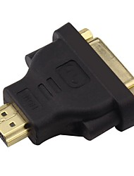 IT-CEO V7DV-1  DVI Adapter DVI to HDMI 1.4 Adapter Male - Female Gold-Plated Copper
