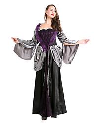 Une Pièce/Robes Reine Conte de Fée Ange et Diable Vampire Fête / Célébration Déguisement d'Halloween Rétro Robes Halloween Carnaval