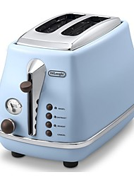 DeLonghi CTO2003 Bread Makers Toaster Kitchen 220V Light and Convenient Timer Cute Low Noise Power light indicator Lightweight Low vibration
