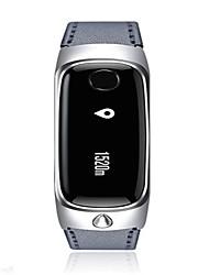 Men's Smart Watch Digital Silicone Band Black Grey Gold