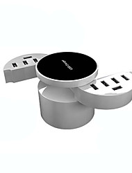 USB Charger 10 Ports Desk Charger Station with Smart Identification US Plug Charging Adapter
