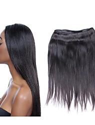Оптовые 10a бразильские прямые виргинские пучки волос 10pcs 1kg много 100% шелковистые материалы человеческих волос естественный черный