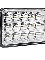youoklight 6 pouces 45w dc10-30v cool voiture blanche conduit lumière de travail lampe auto moto us plug