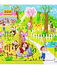 Пазлы Игрушки Поросенок Мышь Корабль Лошадь Мультфильм образный Цветы Не указано Куски