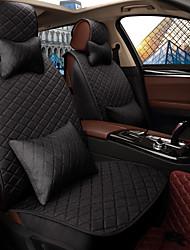 Assento do assento do carro assento assento da tampa quatro estações geral linho cercado por um carro da família cinco assentos para